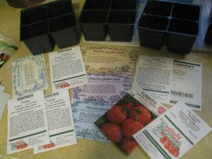 Many different tomato varieties to choose from!