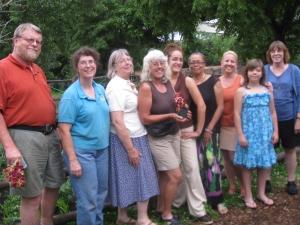 CCGA Board Members and Friends