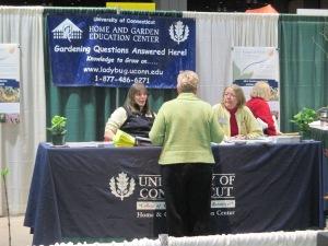 UConn Home & Garden Education Center Booth