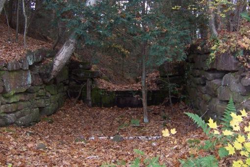 Remaining foundations, SAPelton photo