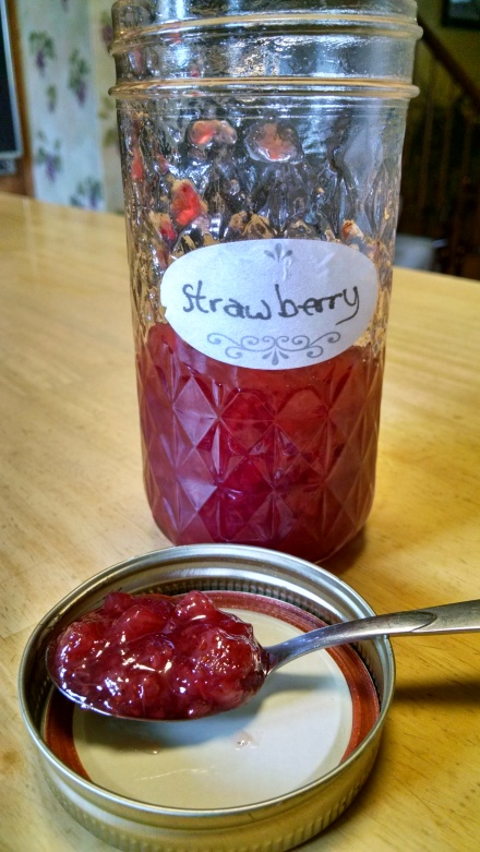 The last of the jam!