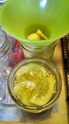 Ladled into jars