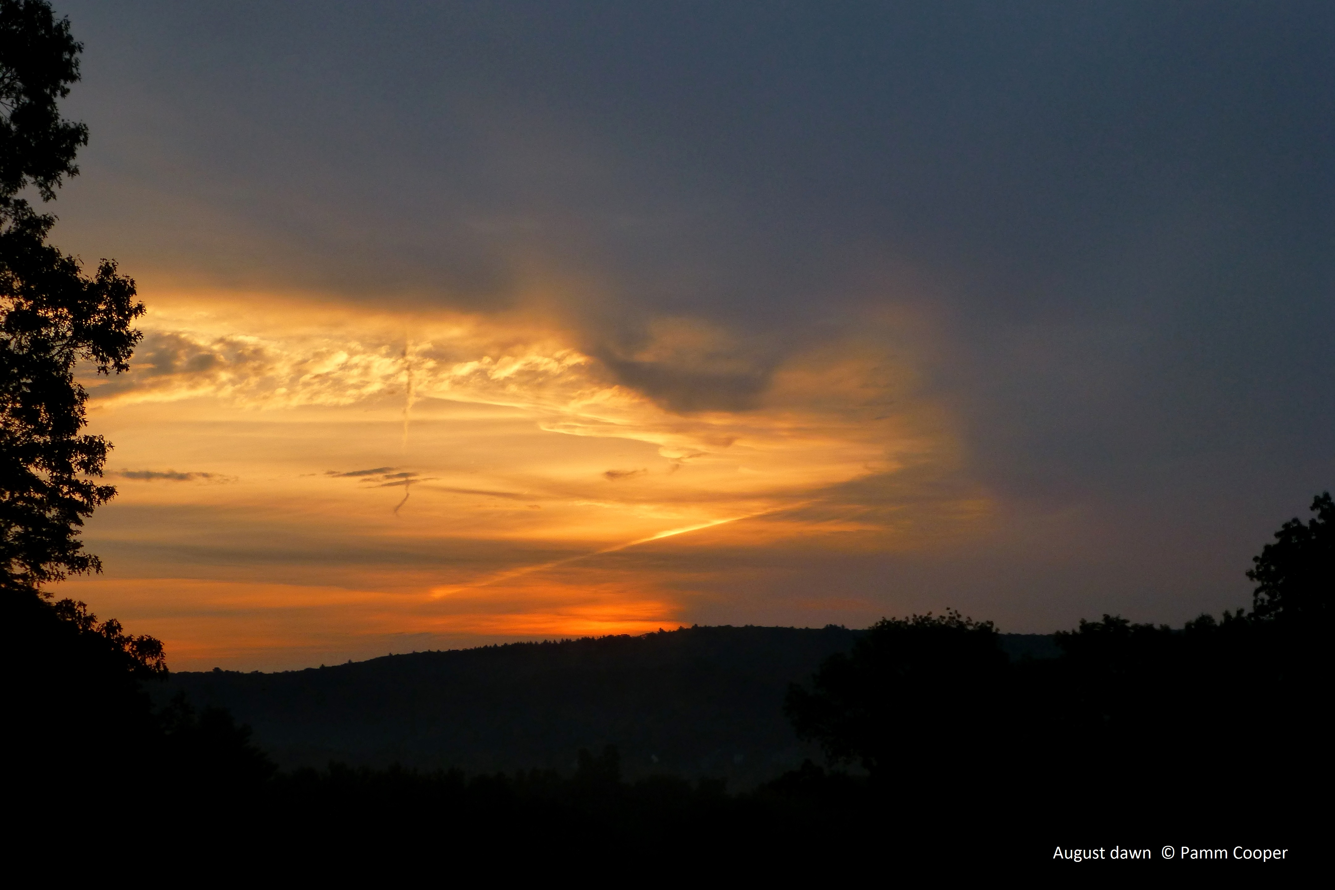 August dawn GHills from 8 8-18-13
