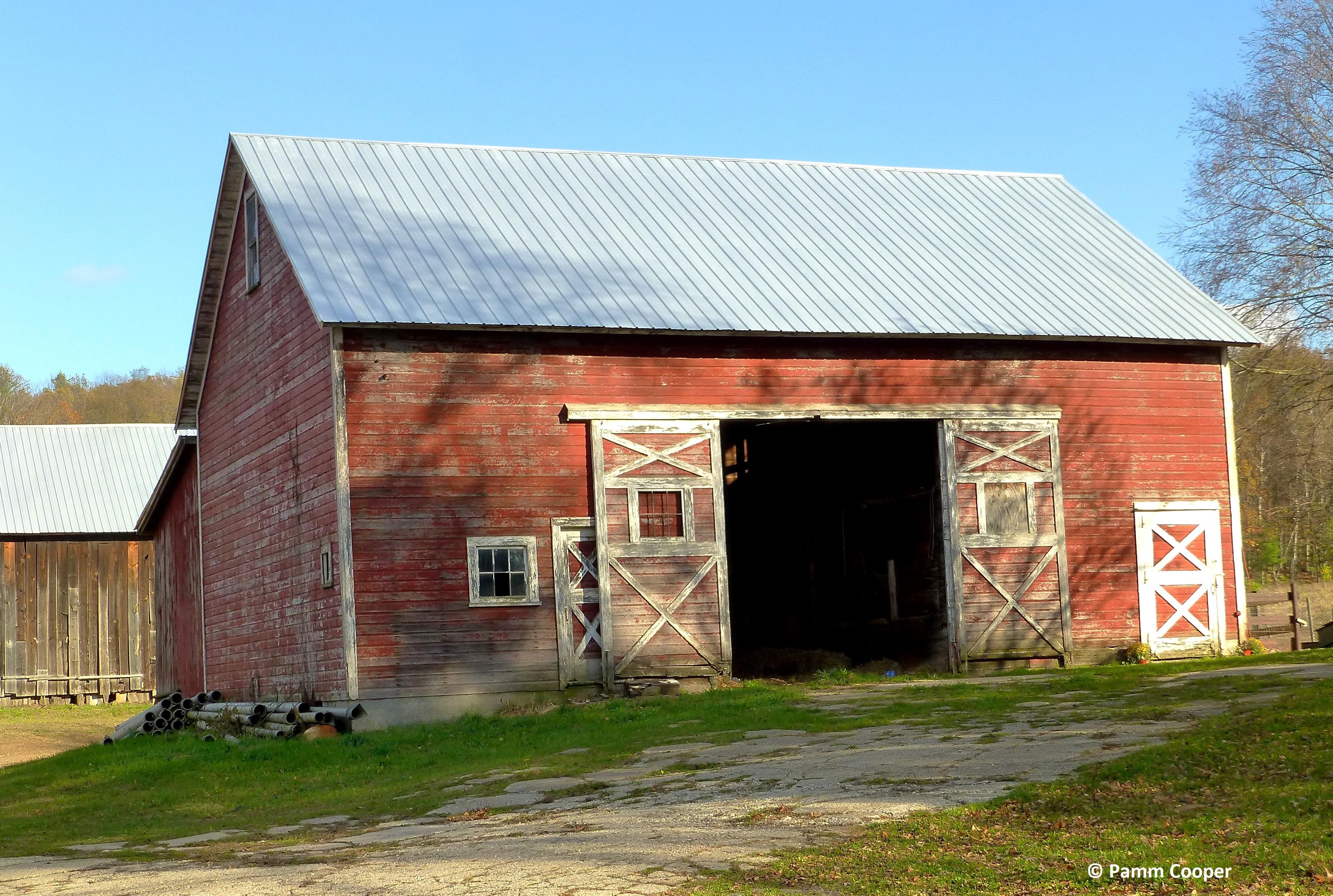barn with open door jarmoc farms Enfield - Copy