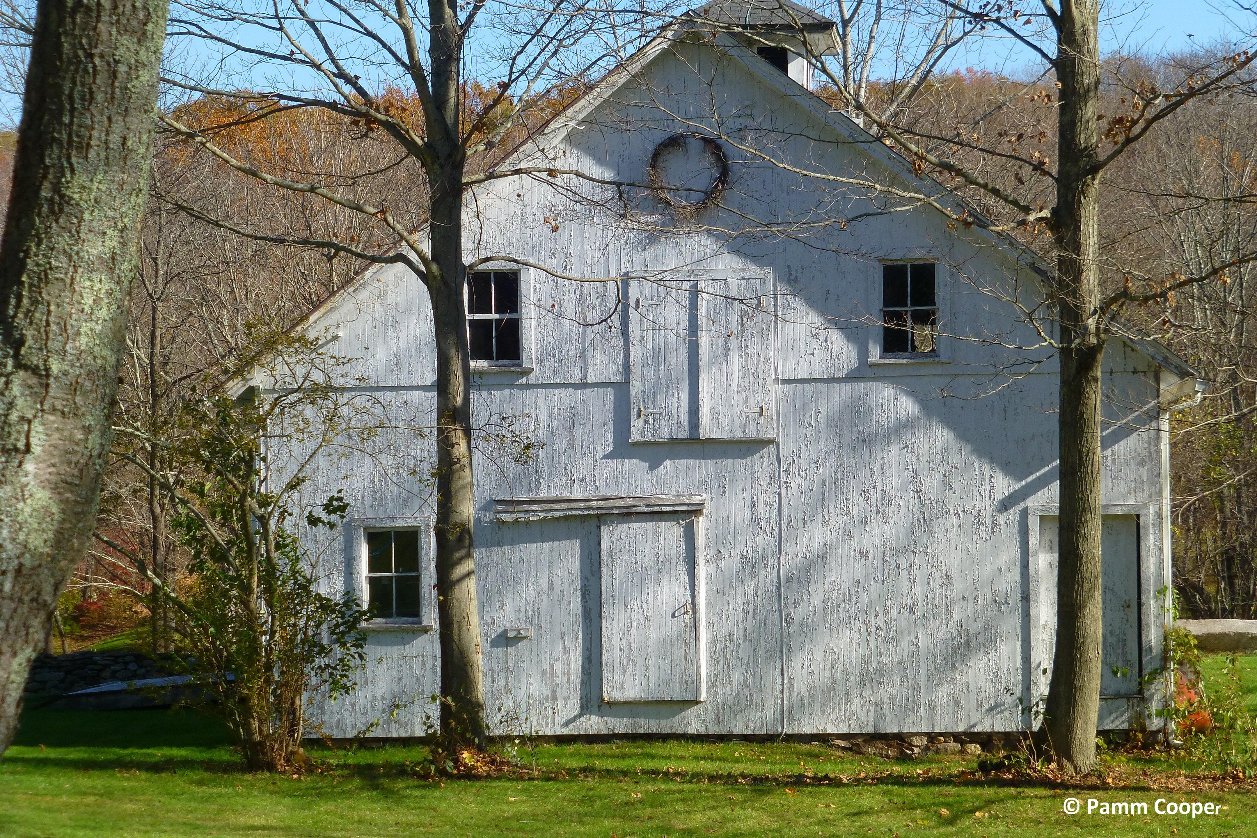 Sheridan Homestead barn Bolton ct. gentlemans barn style built 1900