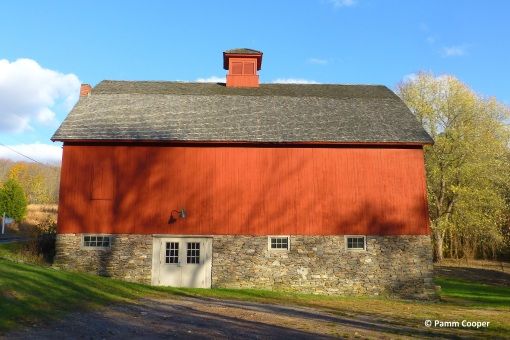 Valley Falls red barn