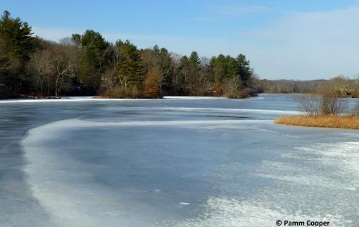 winter landscape January