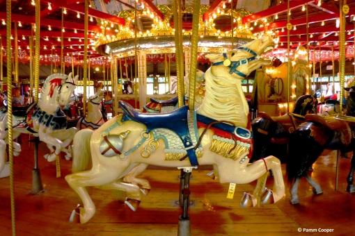 Carousel horse- Bushnell Park in Hartford