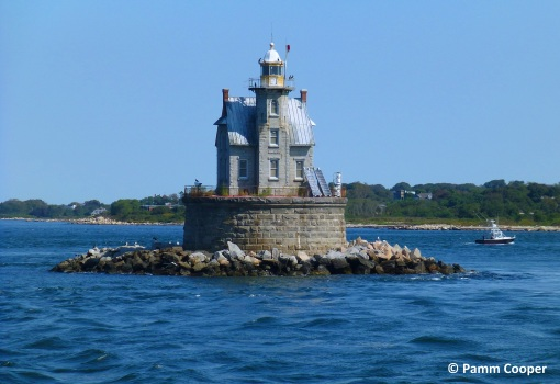 Race Rock lighthouse Pamm Cooper photo