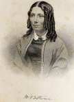 Frontispiece engraving of Harriet Beecher Stowe, Uncle Tom's Cabin (Boston John P. Jewett,1853).